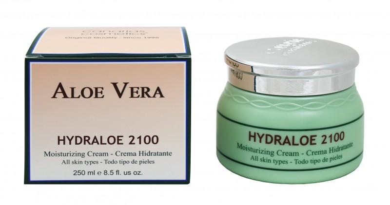 canarias cosmetics hydraloe 2100 feuchtigkeitscreme aloe vera creme 250 ml ebay. Black Bedroom Furniture Sets. Home Design Ideas